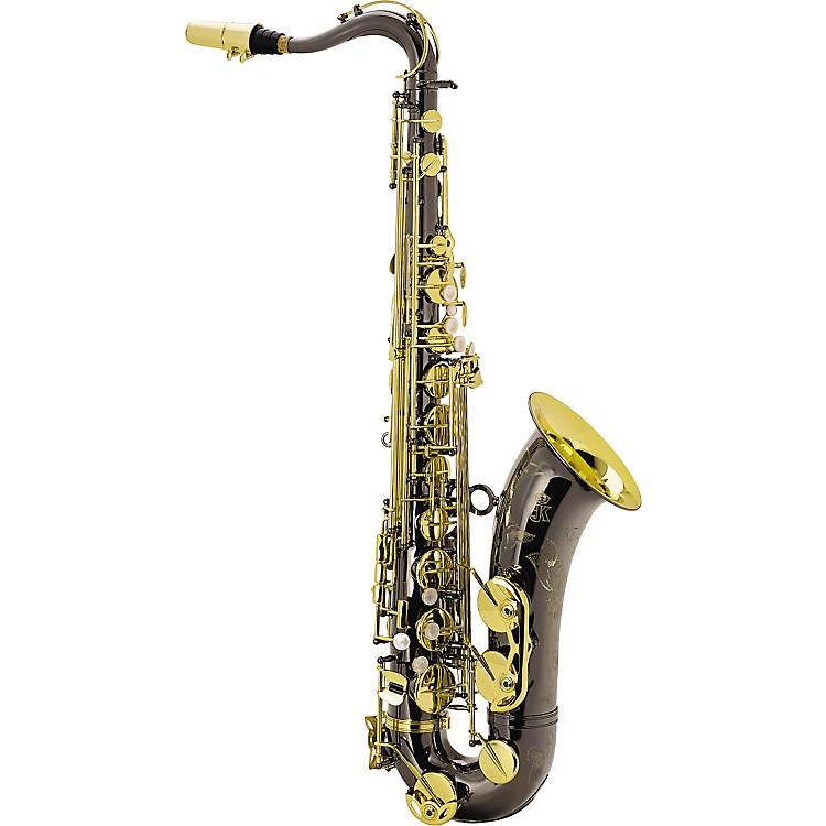 KeilwerthSX90R Black Nickel Model Professional Tenor SaxophoneBlack Nickel with Gold Lacquer Keys