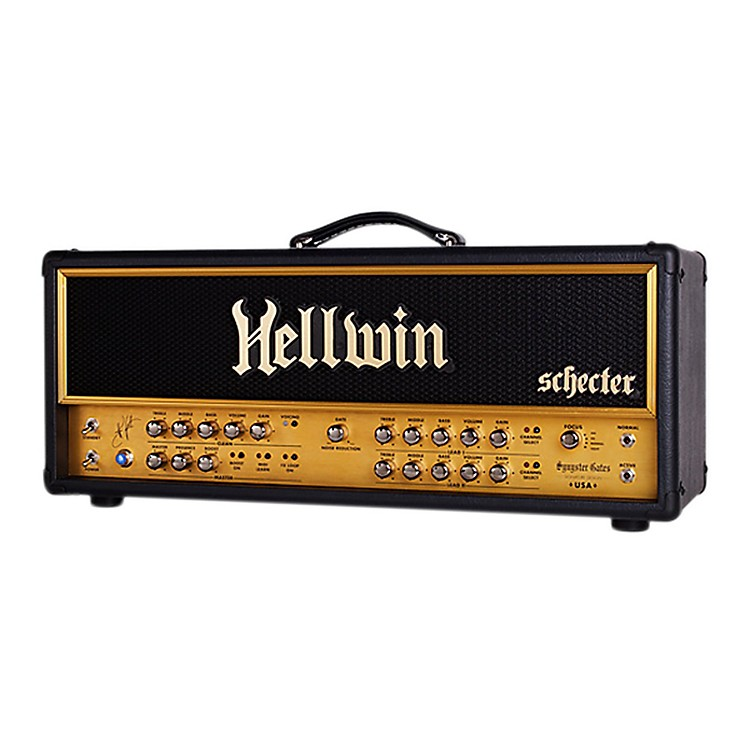 Schecter Guitar Research SYN100-H Hellwin USA 100W Tube Guitar Amp Head Black