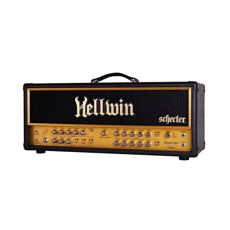 Schecter Guitar Research SYN100-HE Hellwin Stage 100W Tube Guitar Amp Head Black