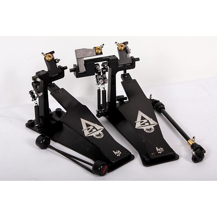 Axis Sabre A21 Double Bass Drum Pedal with Microtune Spring Tensioner Silver 888365787107