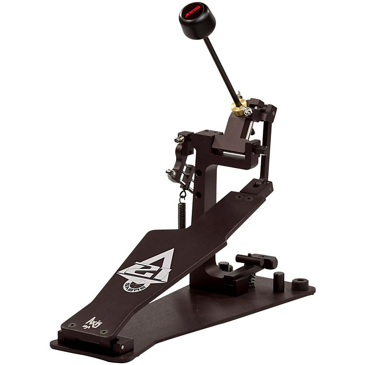 Axis Sabre A21 Single Bass Drum Pedal with Microtune Spring Tensioner Classic Black