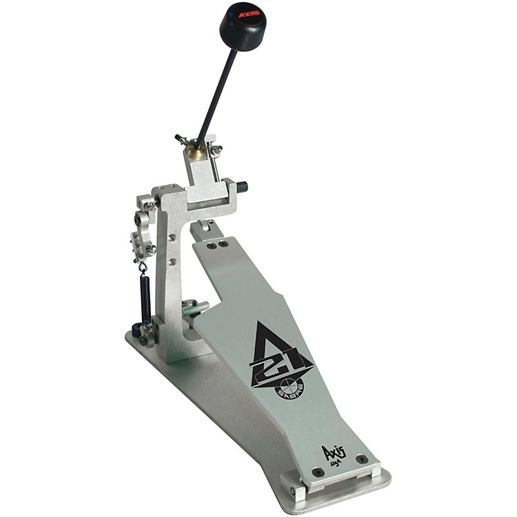AxisSabre A21 Single Bass Drum Pedal with Microtune Spring TensionerSilver