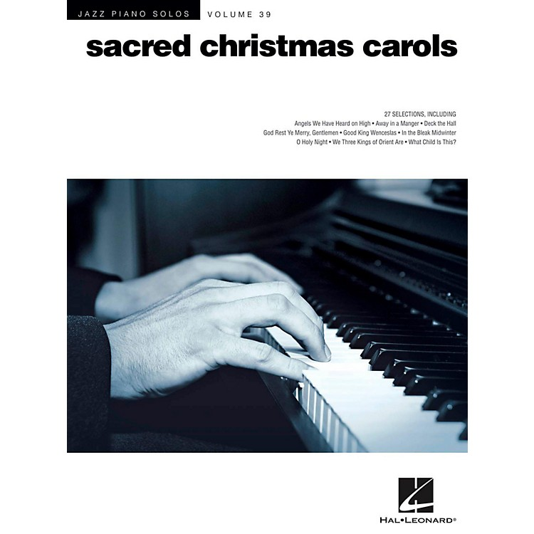 Hal Leonard Sacred Christmas Carols - Jazz Piano Solo Series Vol. 39