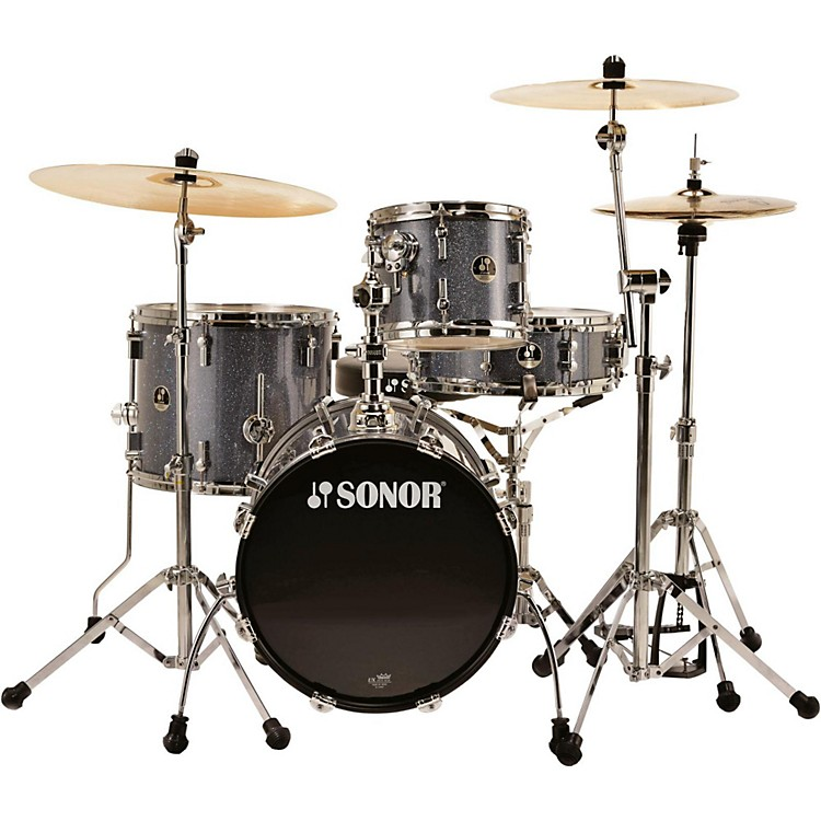 Sonor Safari 4-Piece Shell Pack Black Galaxy Sparkle
