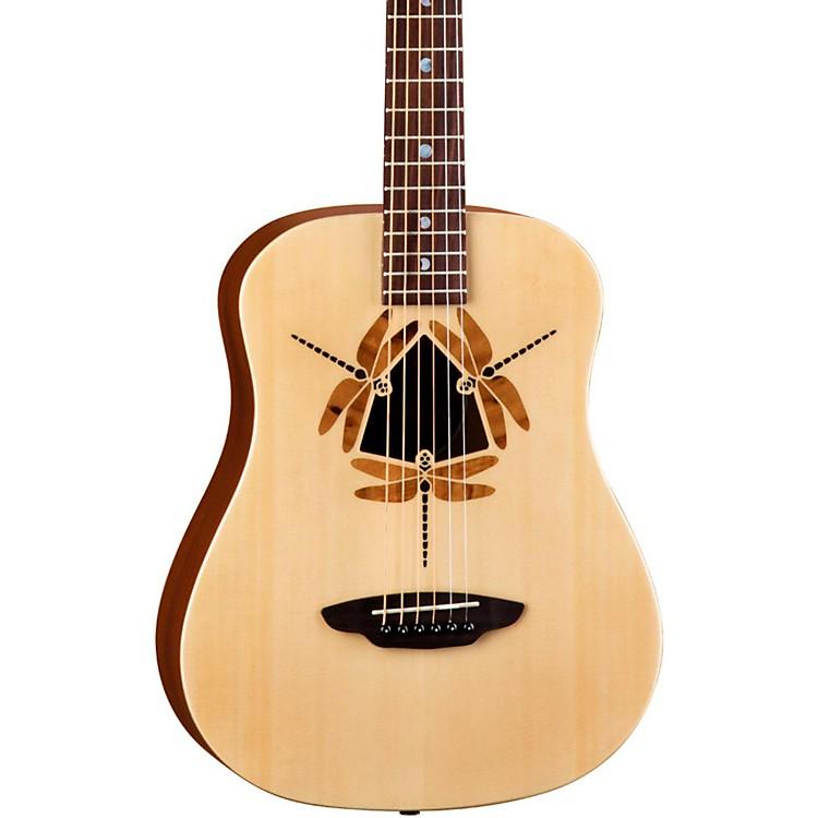 Luna GuitarsSafari Dragonfly 3/4 Size Travel Acoustic Guitar