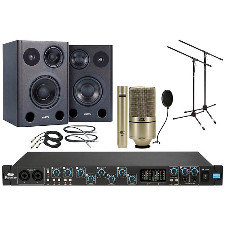 FocusriteSaffire Pro 40 MXL 990/991 Package