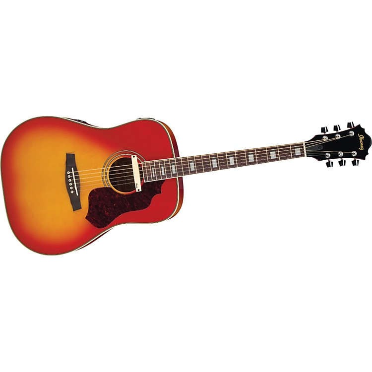 IbanezSage Series SGE220 Dreadnought Acoustic-Electric Guitar