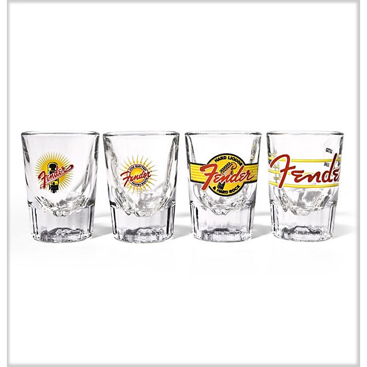 Fender Saloon Shot Glasses (Set of 4)