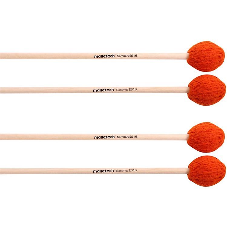 MalletechSammut Marimba Mallets Set of 4 (2 Matched Pairs)16