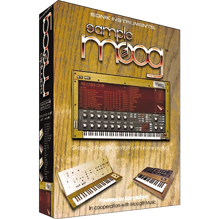 IK Multimedia SampleMoog Education Edition
