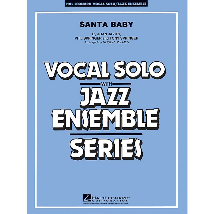 Hal Leonard Santa Baby - Vocal Solo Jazz Ensemble Series Level 4