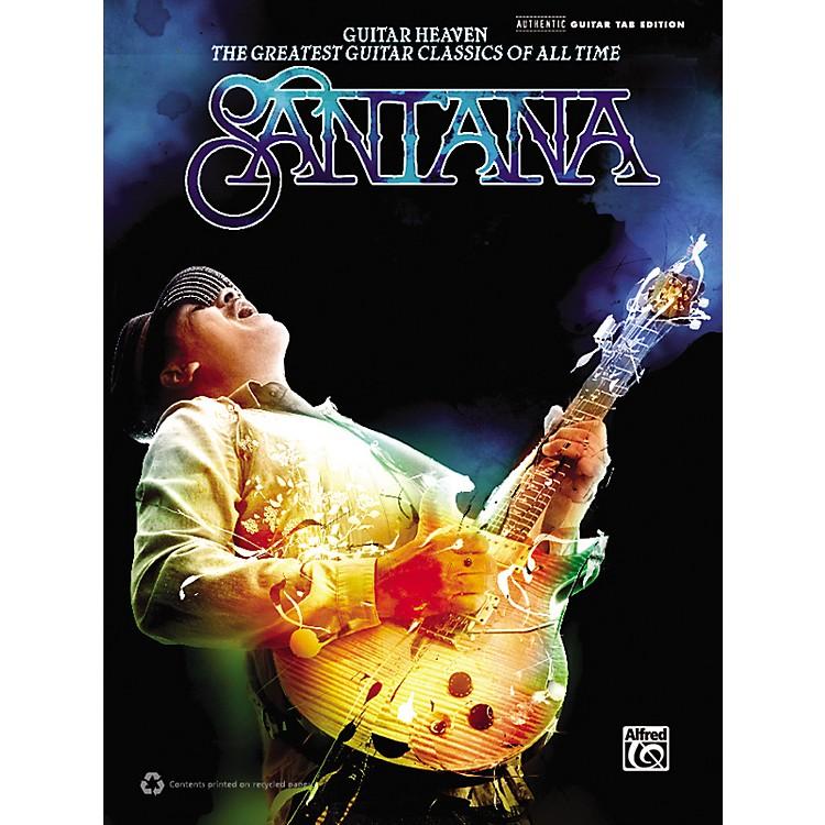 AlfredSantana -  Guitar Heaven Guitar TAB Book