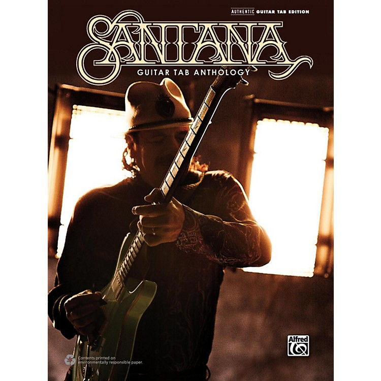 AlfredSantana Guitar TAB Anthology