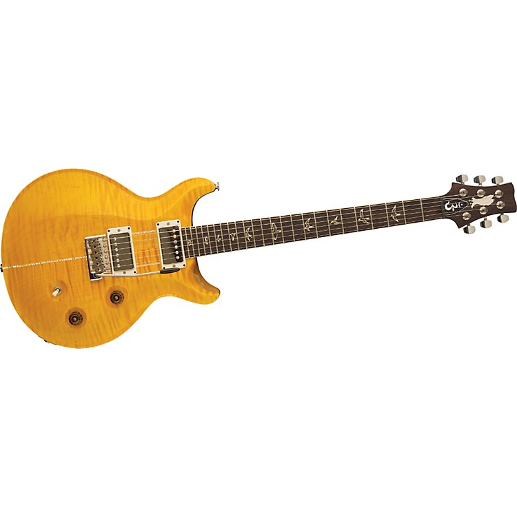 PRS Santana Signature Model Electric Guitar Santana Yellow