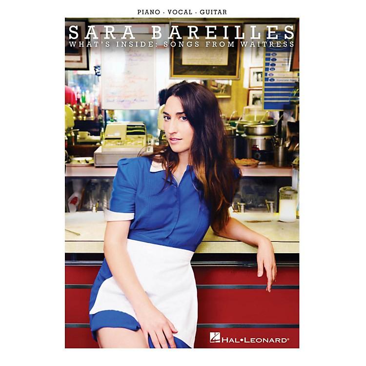 Hal LeonardSara Bareilles - What's Inside - Songs from Waitress for Piano/Vocal/Guitar