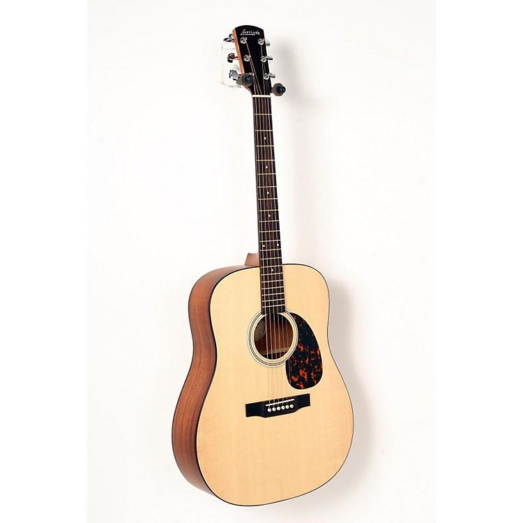 LarriveeSatin Dreadnought Acoustic GuitarNatural, African Mahogany888365837246