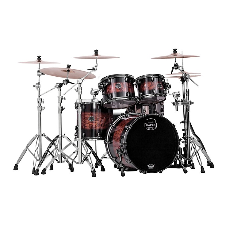 Mapex Saturn IV MH 4-Piece Exotic Jazz Shell Pack