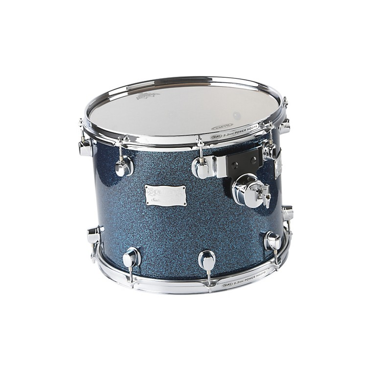 Mapex Saturn Mounted Tom Drum Electric Blue Sparkle 14 X 11