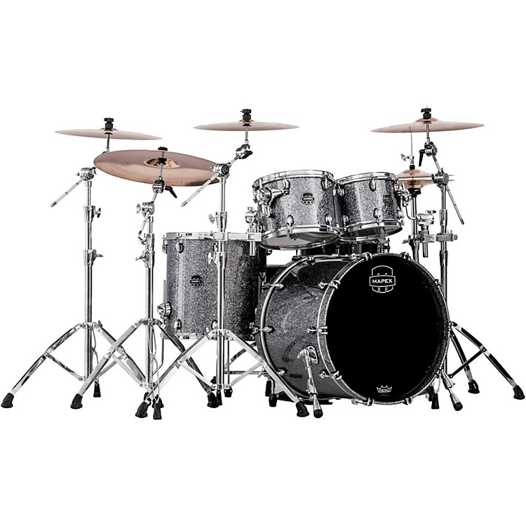 Mapex Saturn V 4-Piece Rock Shell Pack Granite Sparkle