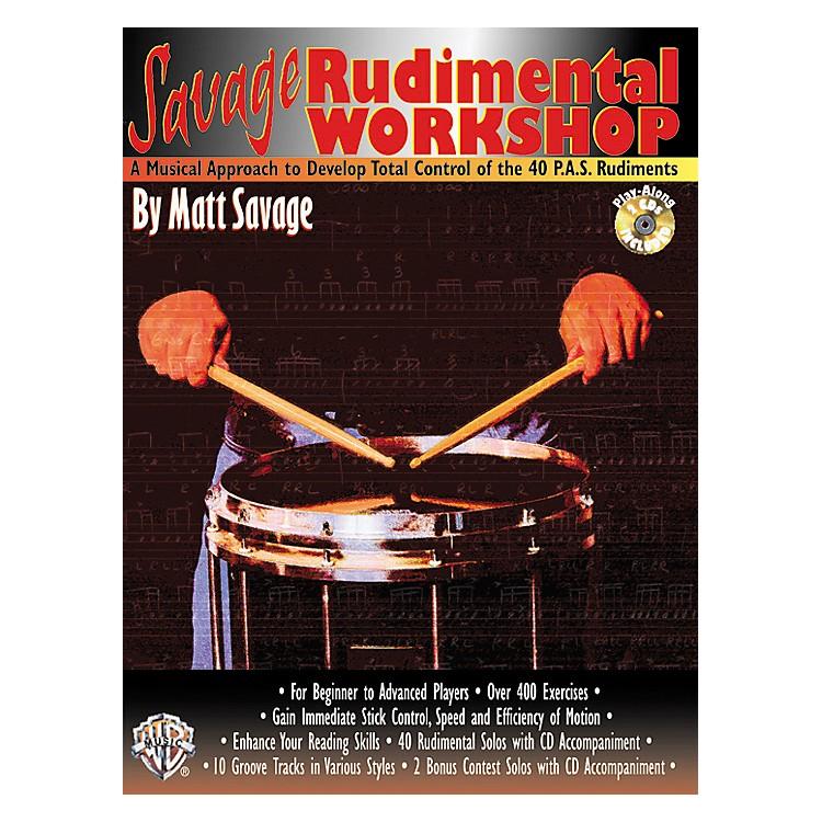 AlfredSavage Rudimental Workshop (Book/CD)