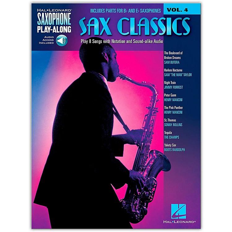 Hal LeonardSax Classics - Saxophone Play-Along Vol. 4 Book/CD