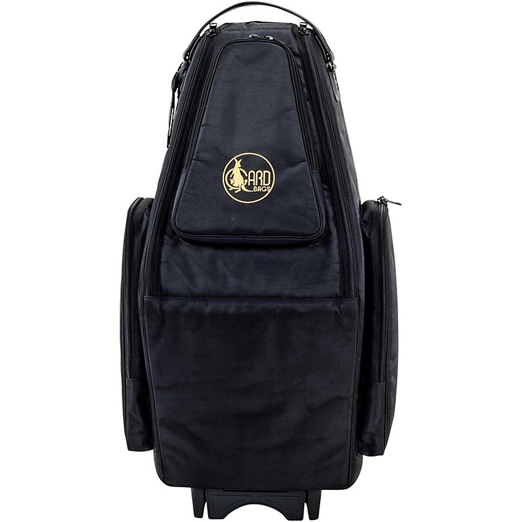 GardSaxophone Wheelie Bag in Synthetic with Leather TrimFits Both Tenor and Soprano