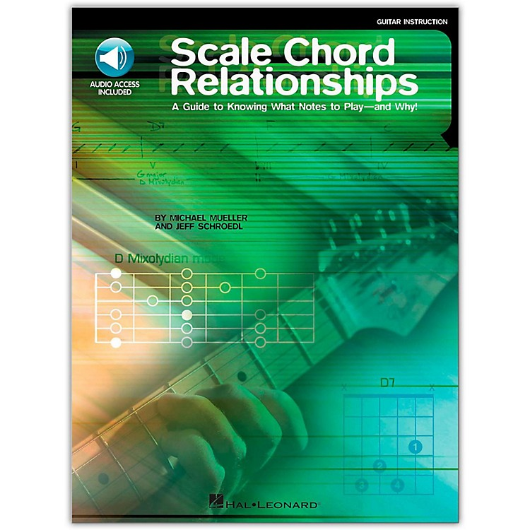 Hal Leonard Scale Chord Relationships Book/CD