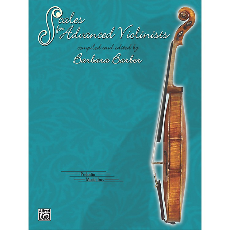 AlfredScales for Advanced Violinists (Book)