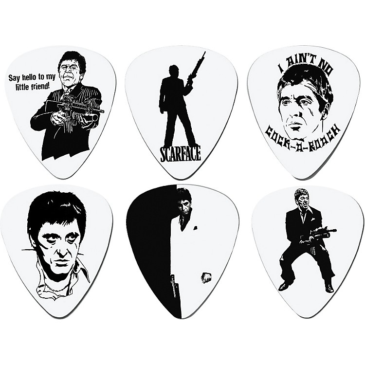 Coffin Case Scarface Guitar Picks 6-Pack