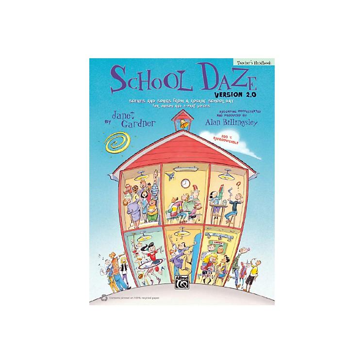 AlfredSchool Daze Version 2.0 Book & CD