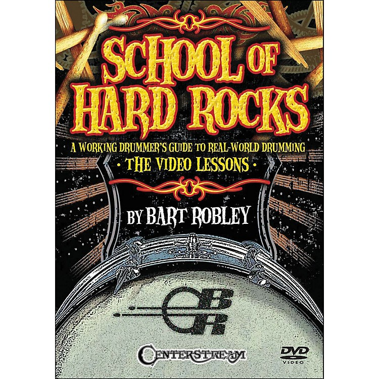Centerstream PublishingSchool Of Hard Rocks: A Working Drummers Guide To Real World Drumming (2-Dvd Set)