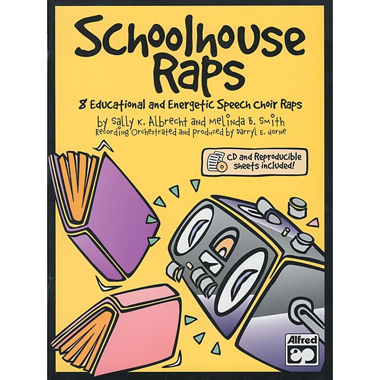 AlfredSchoolhouse Raps Book/CD