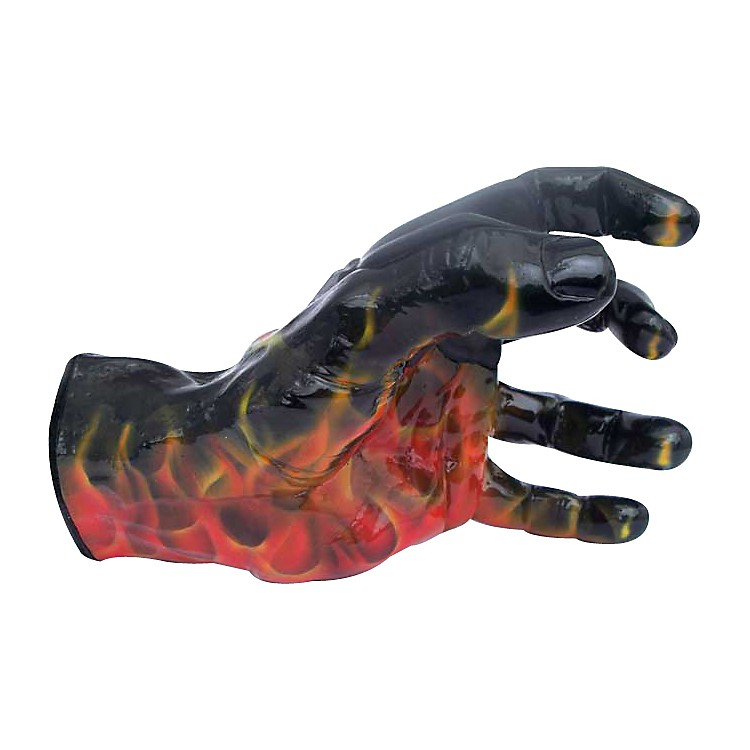 Grip Studios Scoppio Airbrushed Flame Custom Guitar Hanger