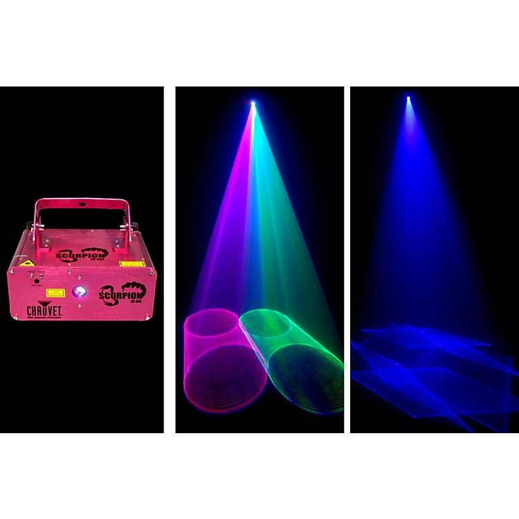 Chauvet Scorpion 3D RGB Laser with 3D patterns