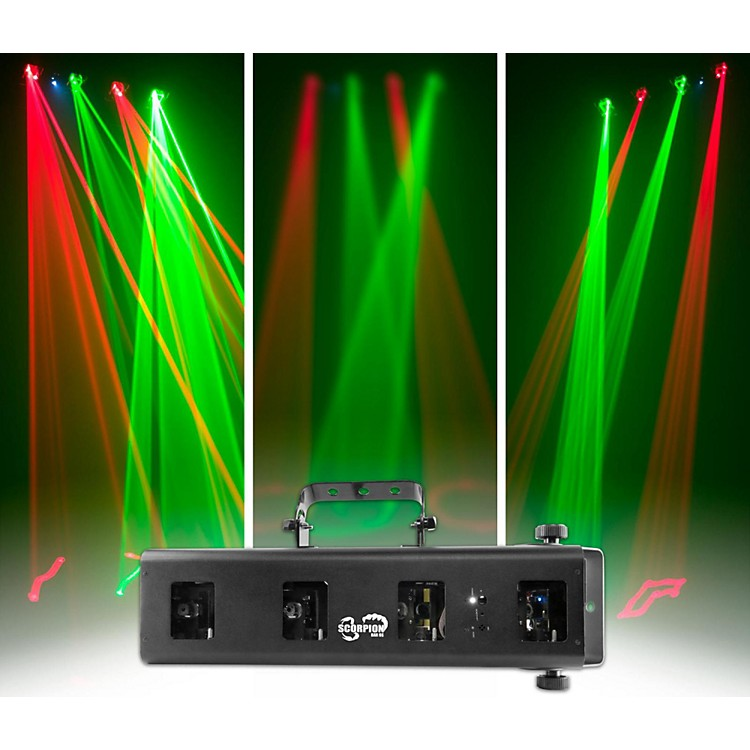 ChauvetScorpion Bar RG Red/Green FAT Beam Laser