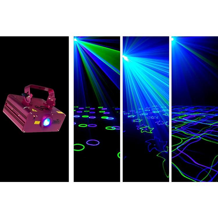 Chauvet DJScorpion Burst green and blue laser with patterns