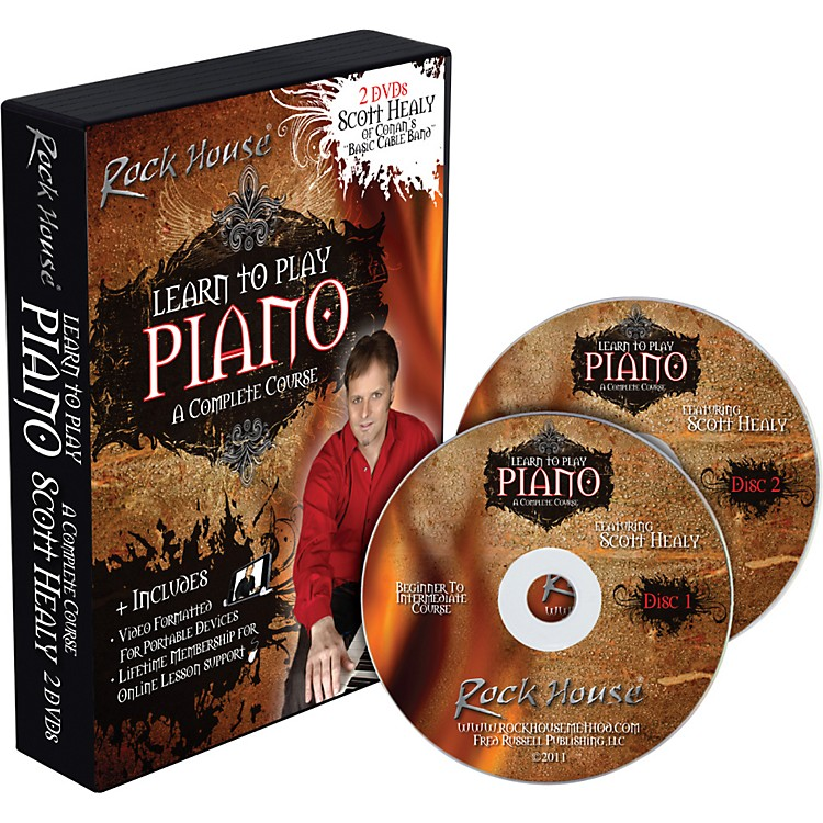 Rock HouseScott Healy - Learn to Play Piano, A Complete Course 2 DVD Set