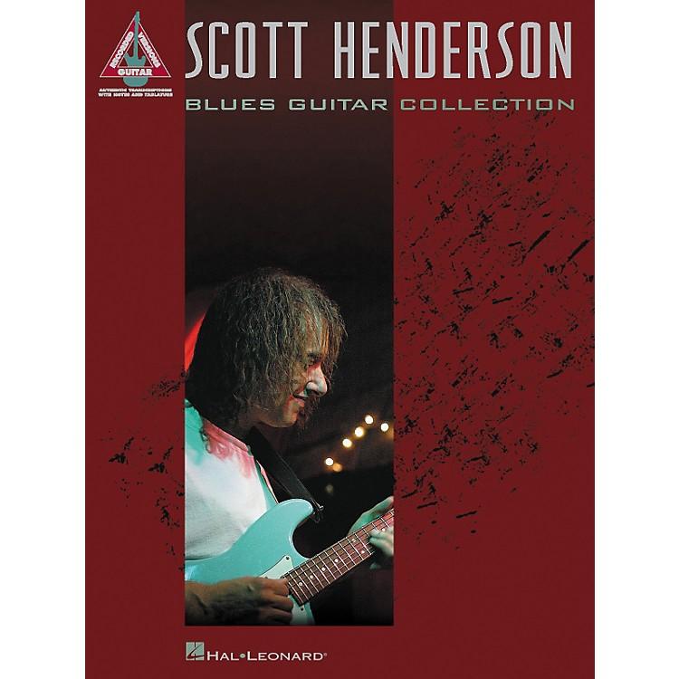 Hal LeonardScott Henderson Blues Guitar Collection Guitar Tab Songbook