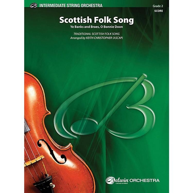 AlfredScottish Folk Song String Orchestra Grade 2