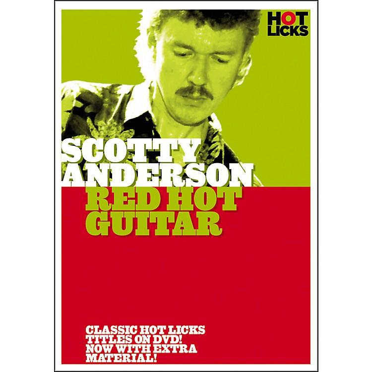 Hot LicksScotty Anderson: Red Hot Guitar DVD