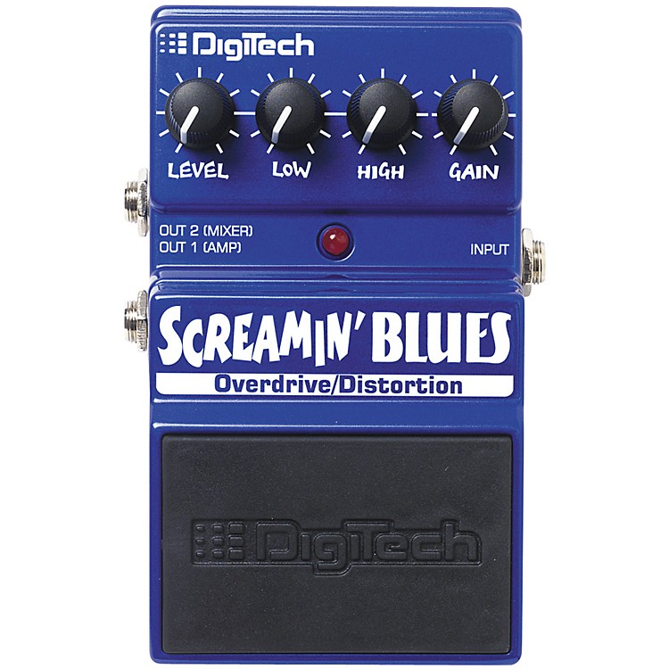 DigiTech Screamin' Blues Overdrive Guitar Effects Pedal