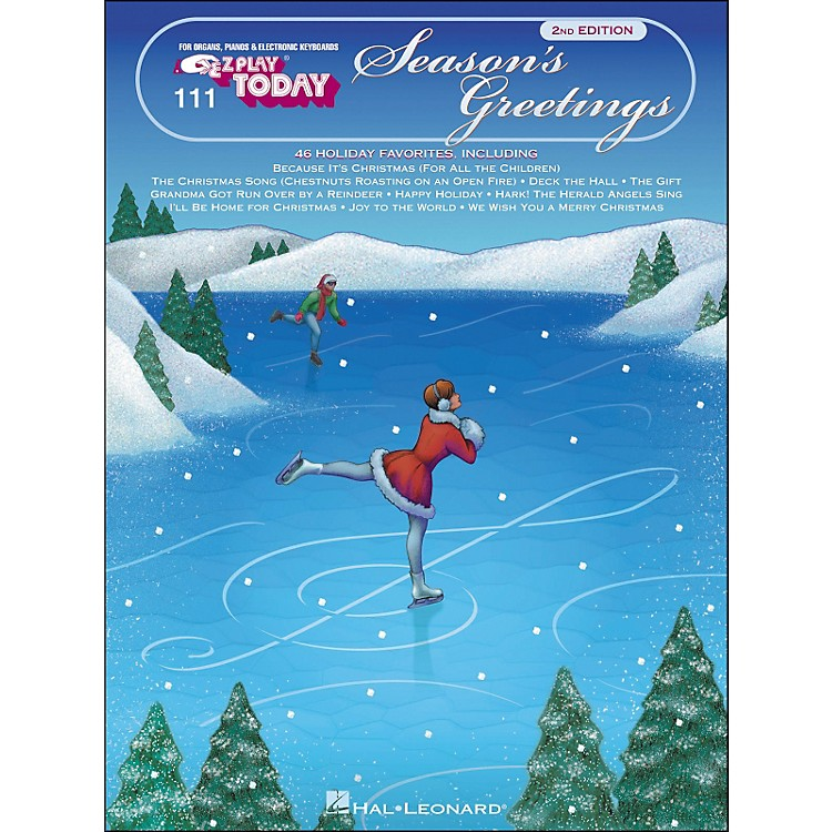 Hal Leonard Season's Greetings E-Z Play 111