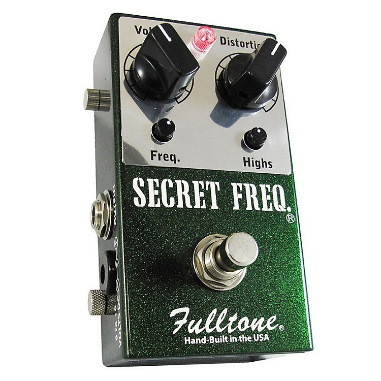 FulltoneSecret Frequency Overdrive/Distortion Guitar Effects Pedal