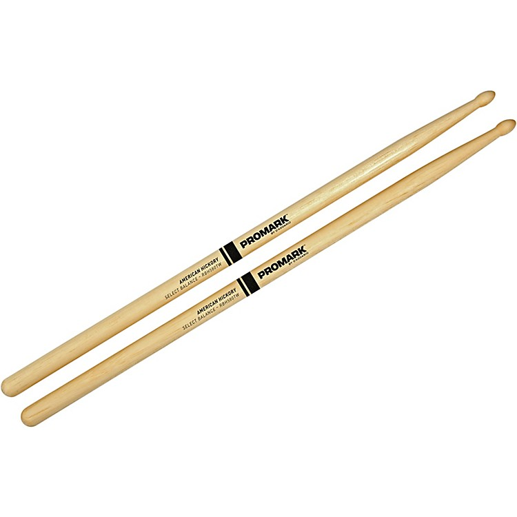 PROMARK Select Balance Rebound Balance Wood Tip Drum Sticks .580 in. Diameter Rebound Balance