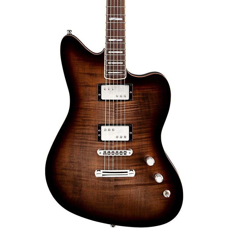 FenderSelect Carve Top Jazzmaster Electric GuitarTwilight BurstRosewood Fingerboard