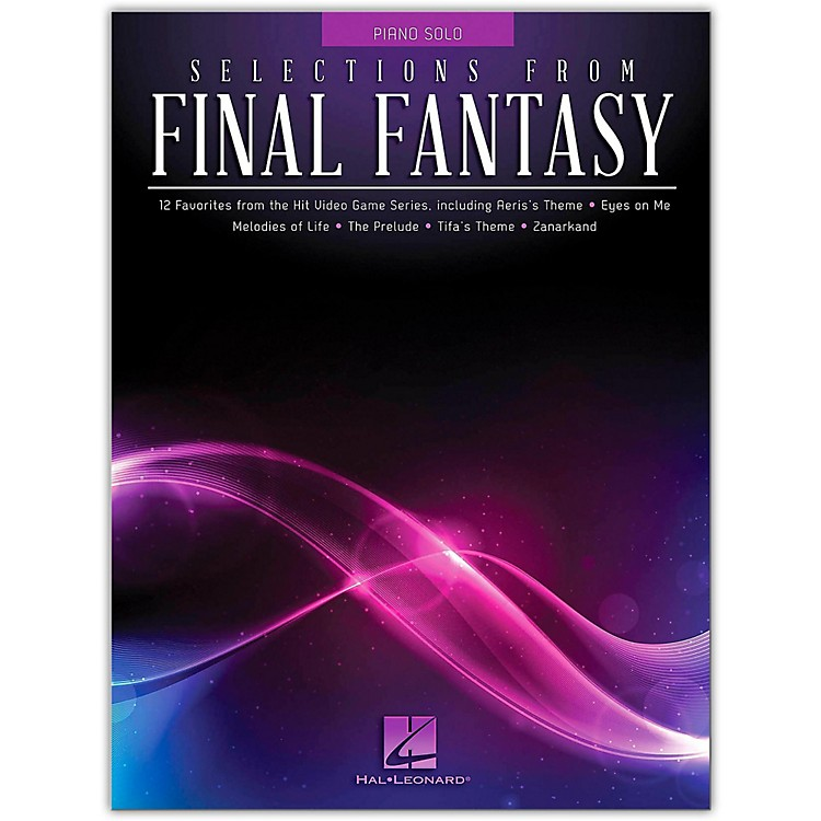 Hal LeonardSelections from Final Fantasy for Piano Solo