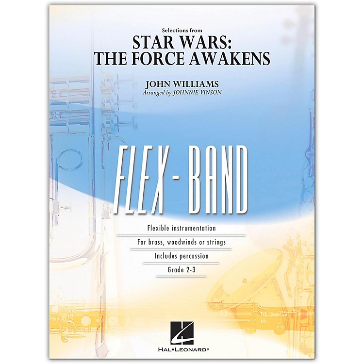 Hal LeonardSelections from Star Wars: The Force Awakens FlexBand Level 2-3