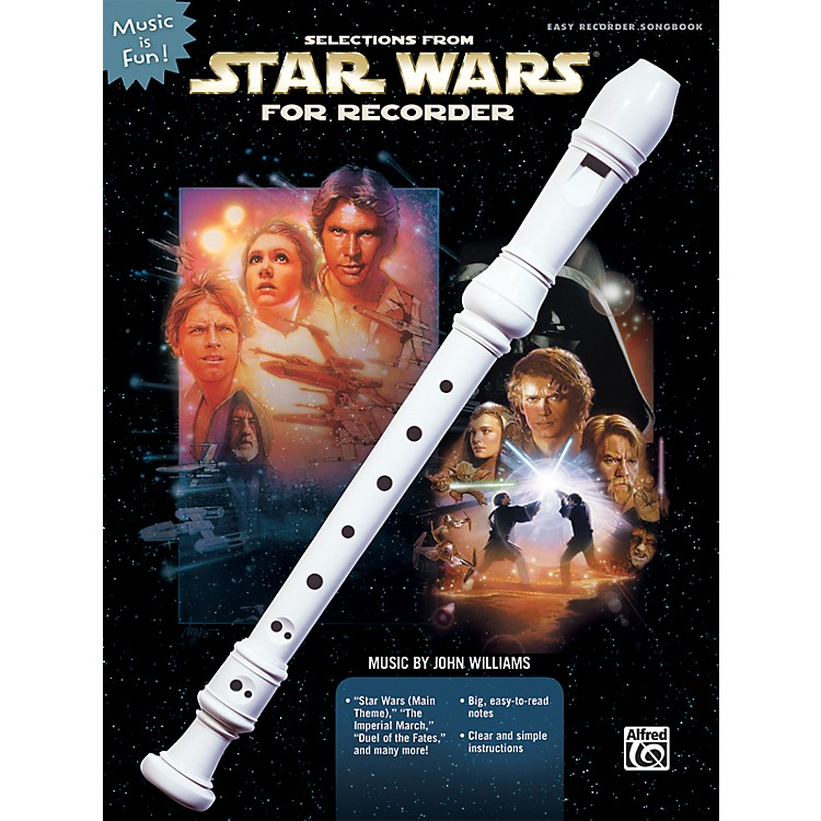 AlfredSelections from Star Wars for Recorder Book & Recorder