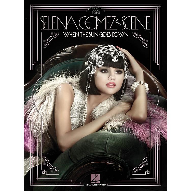 Hal LeonardSelena Gomez And The Scene - When The Sun Goes Down P/V/G Songbook