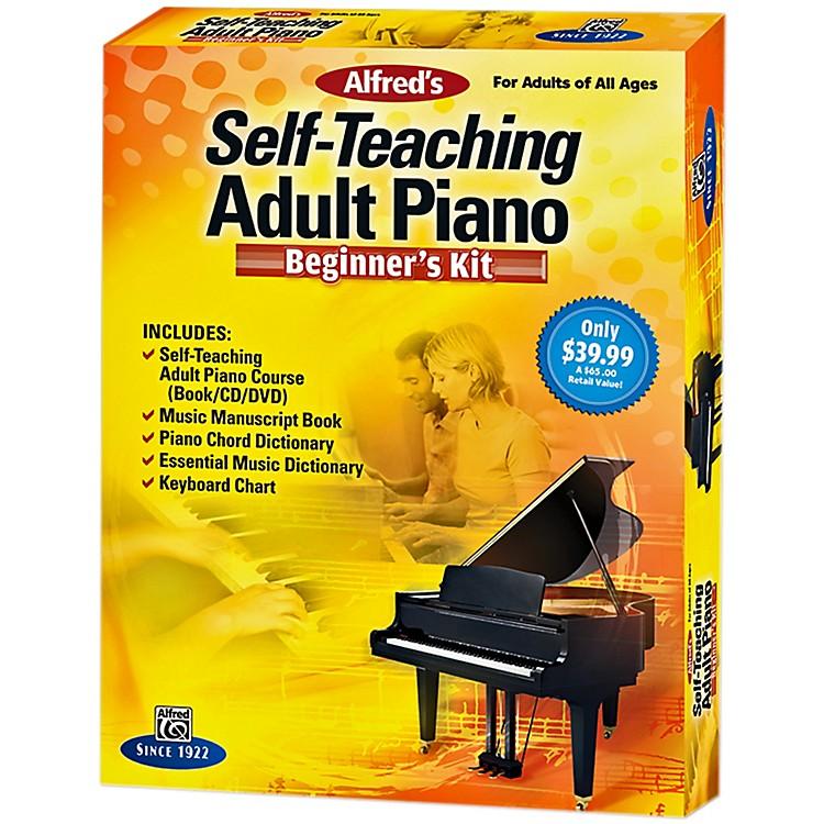 AlfredSelf-Teaching Adult Piano Beginner's Kit